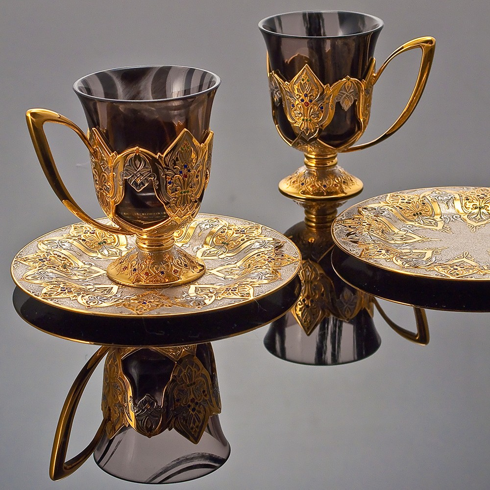 Handmade arabic coffee set in Dubai