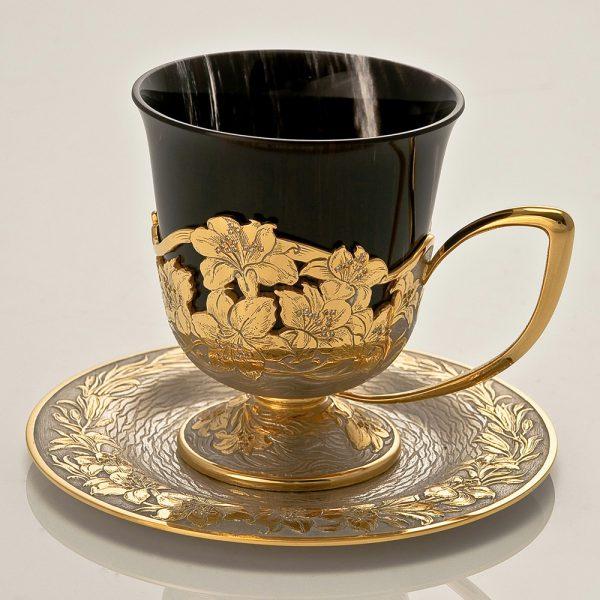 Volcanic Glass Coffee Set