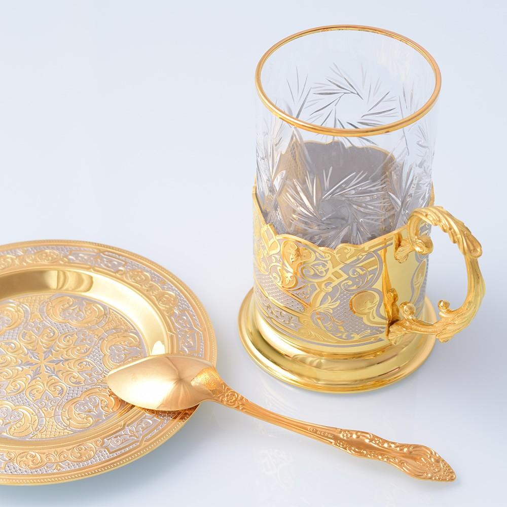 gold coffee set