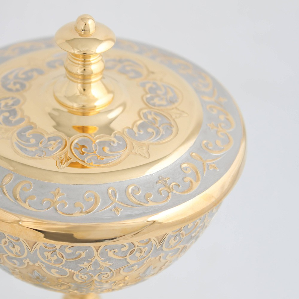 Golden bowl for sweets