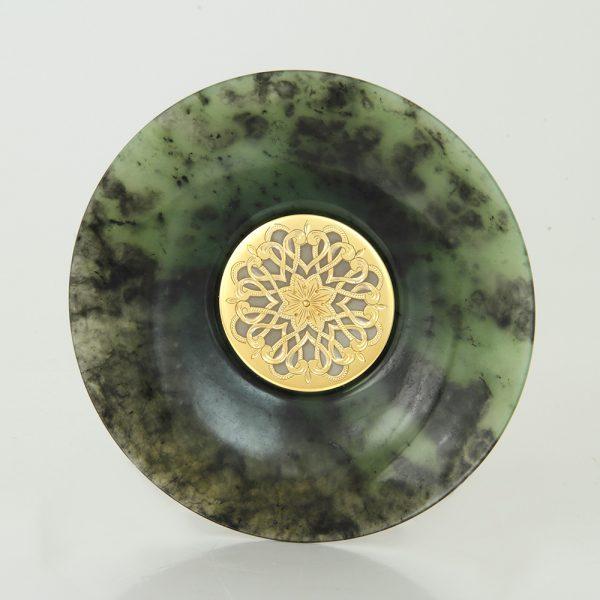 Jade saucer