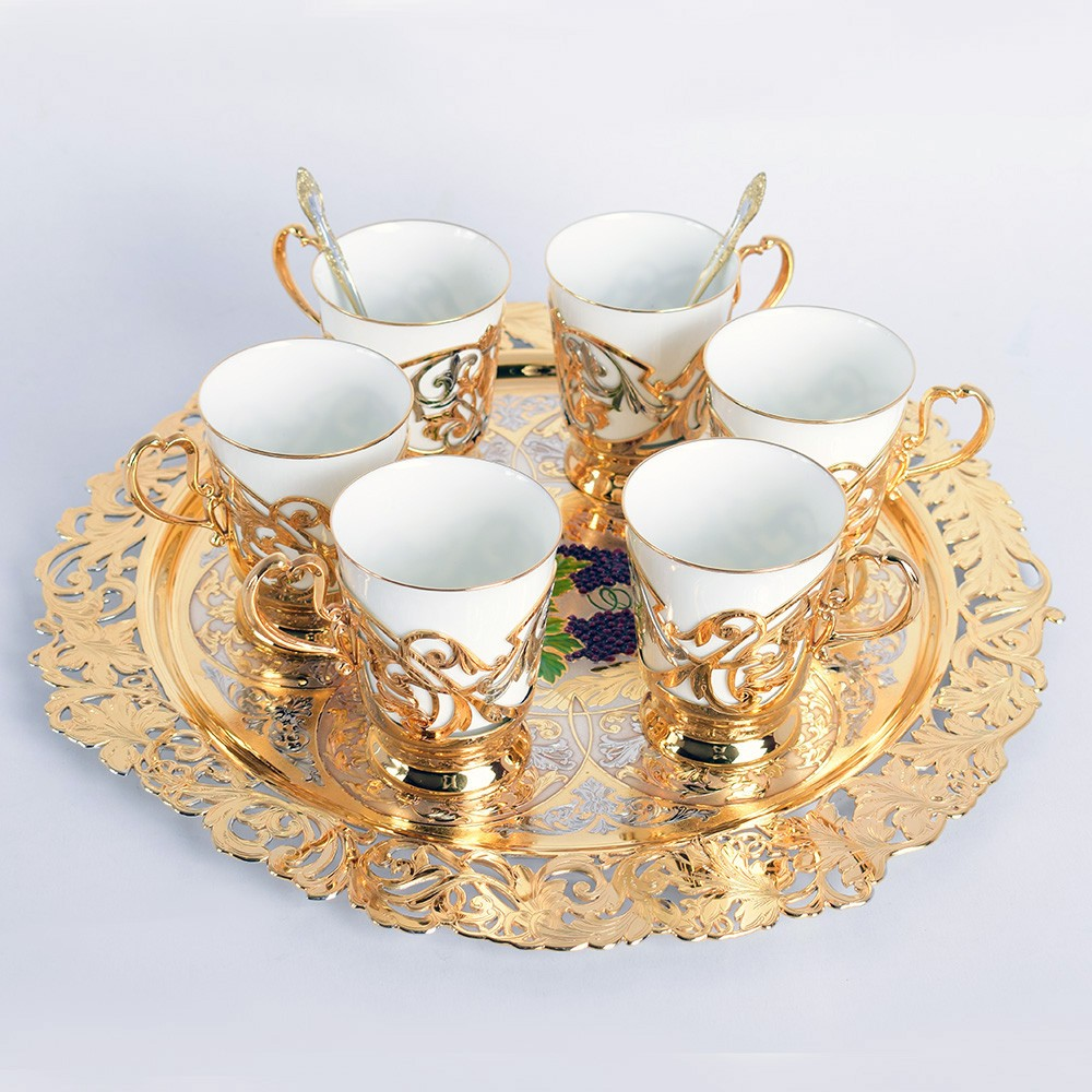 Luxury coffee set for 6 people in the UAE