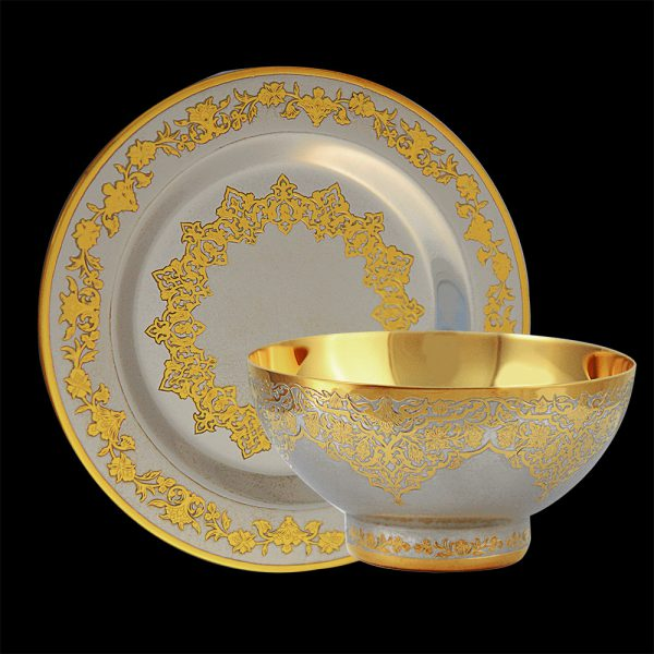 Bedouin Golden Dish