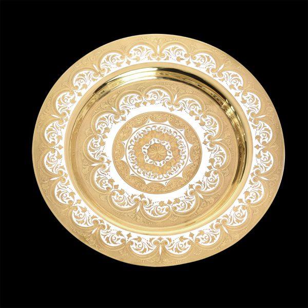 Gift gold platter