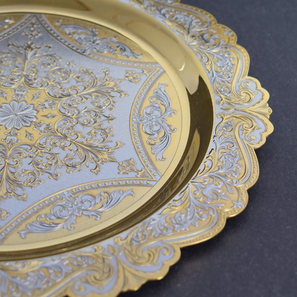 Decorated Zlatoust tableware