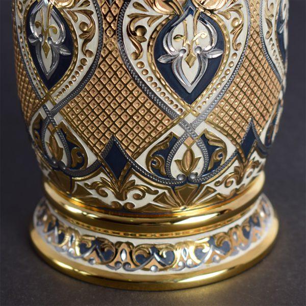 Luxury golden bottle