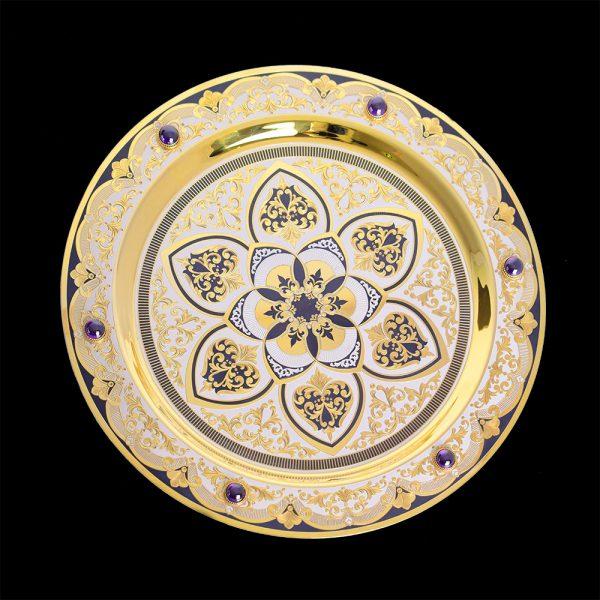 Handmade gift plate