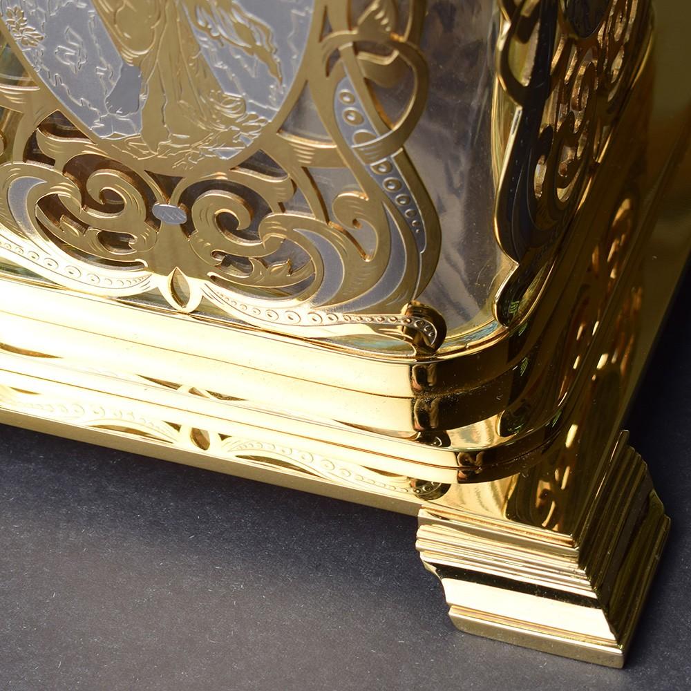 Greek style gold vase