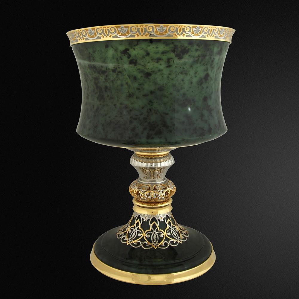 Expensive Natural Jade Vase