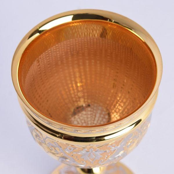 Bowl of golden goblet
