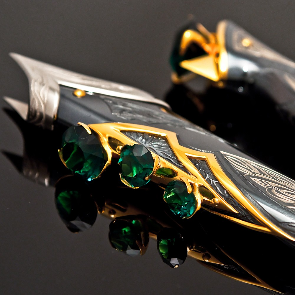 Luxury designer knife from Zlatoust - Pegasus Leaders