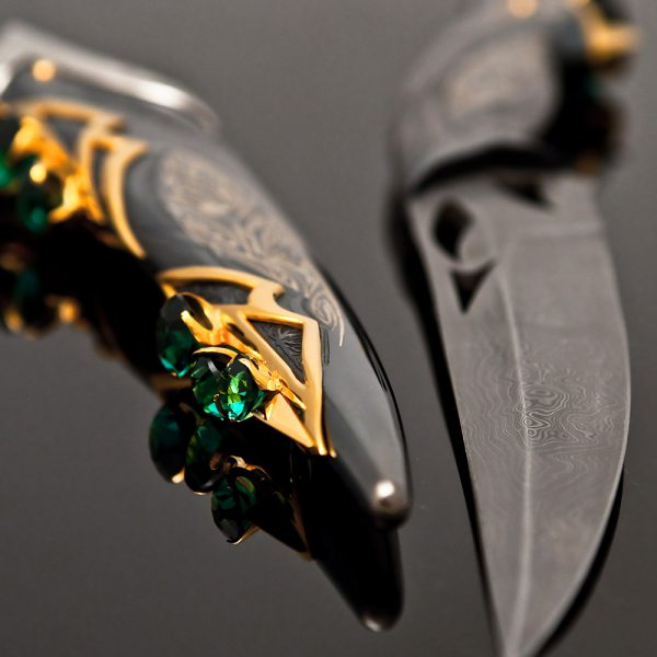 Fantastic superhero knife - spawn. Inspired by comic books and movies of the same name