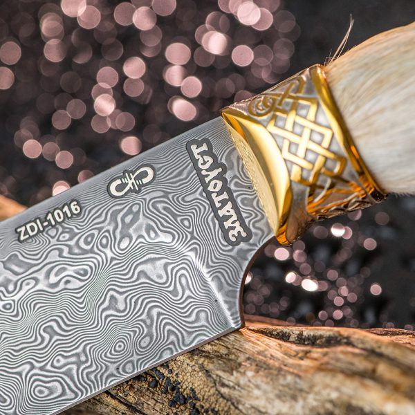 """The inscription """"Zlatoust"""" on the blade"""