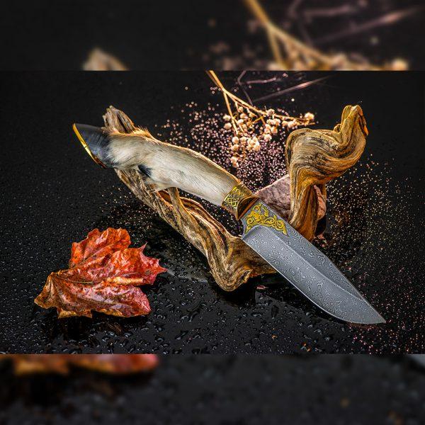 Roe paw and hoof knife