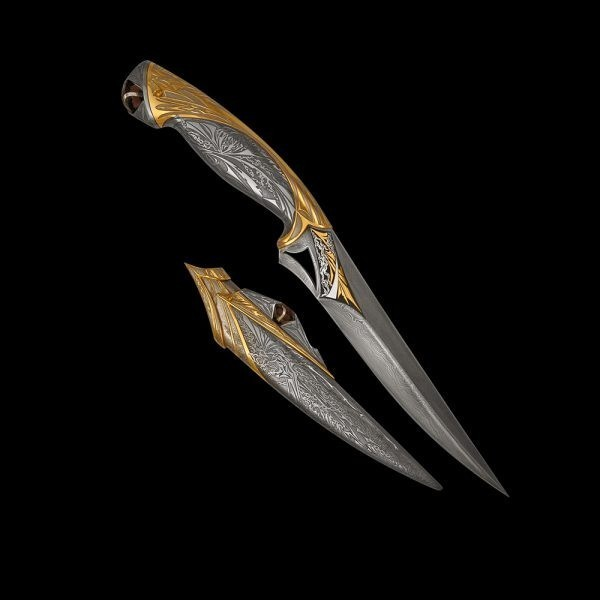 Luxurious knife from the Zlatoust masters - Pegasus Leaders