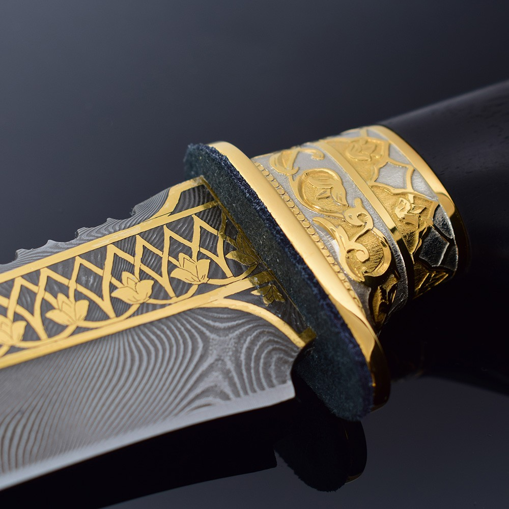 Jewelry engraving knife guard