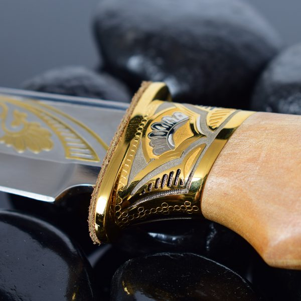 Luxurious knife guard