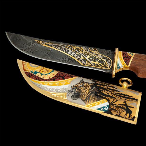 African handmade knife