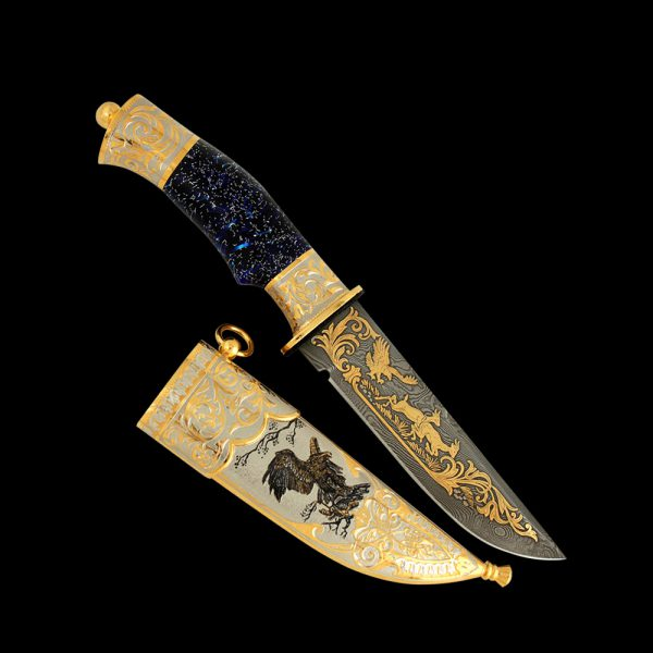 Russian knife - Eagle. Exclusive work