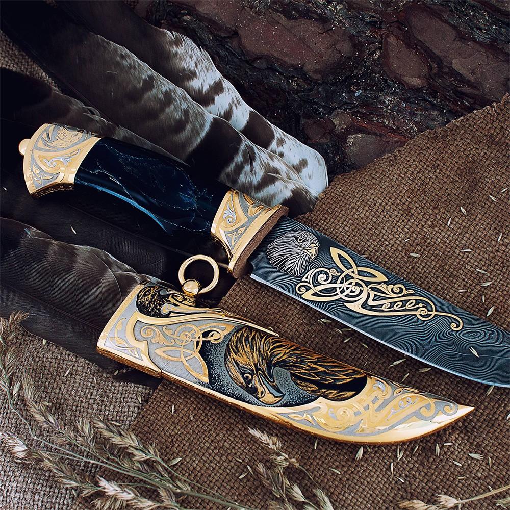 Gift knife - Eagle. Totally handmade