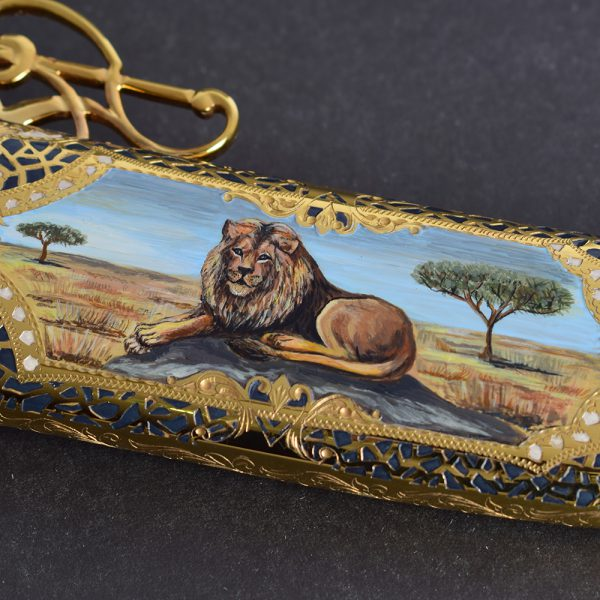 Luxury Knife - Lion
