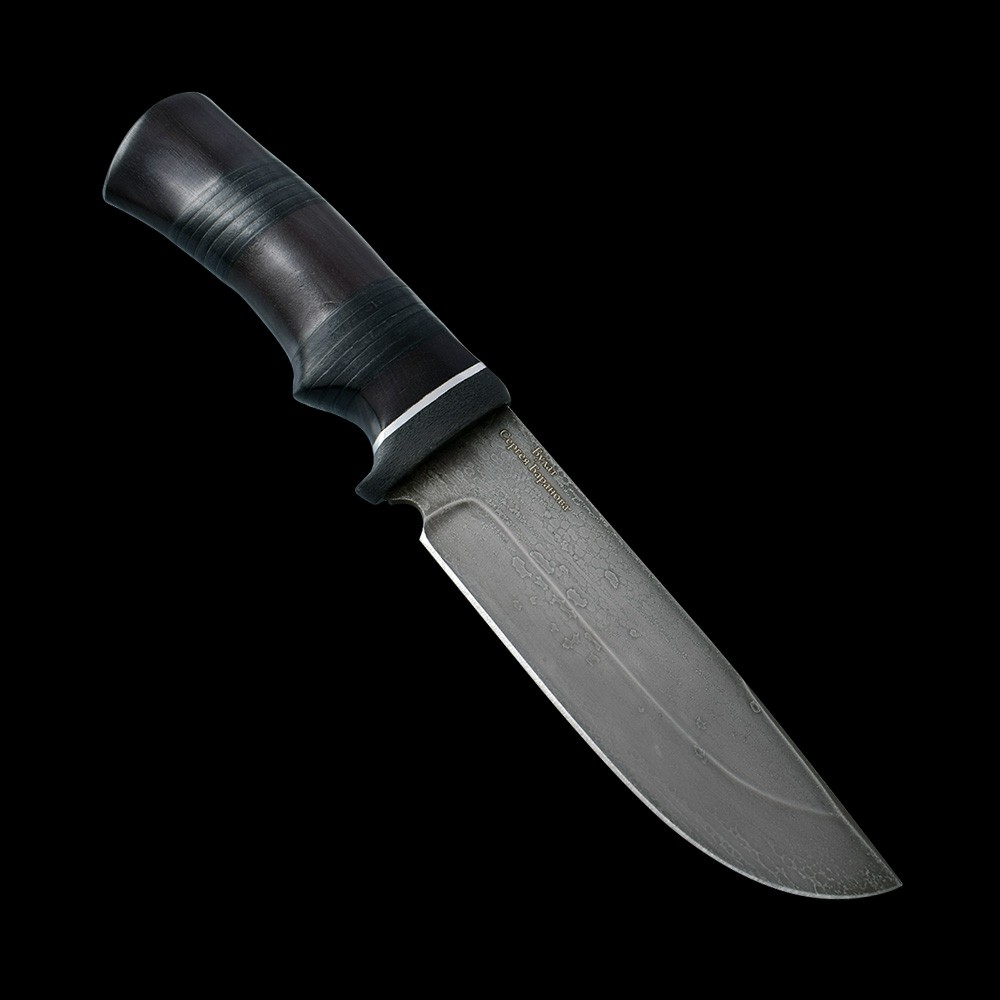 Russian knife of Sergey Baranov