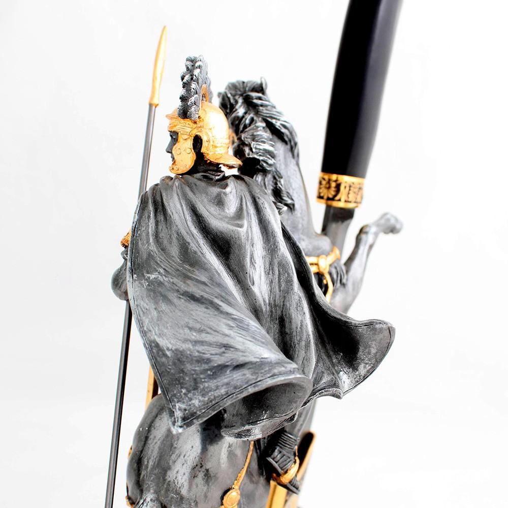 Figurine of Alexander the Great on horseback