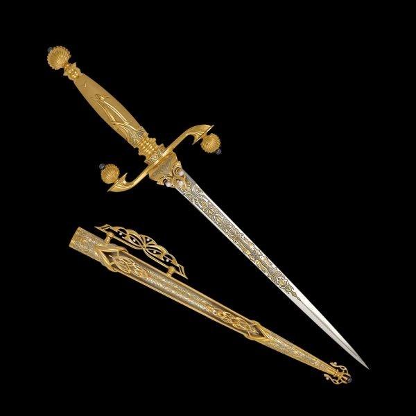 Qatari Dagger for Moza Bint Nasser Al Misned
