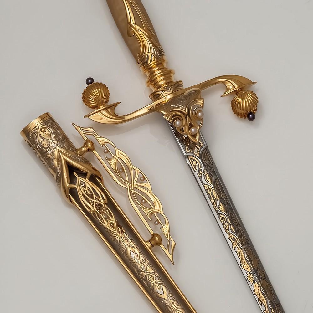 Qatari Dagger - White Pearl