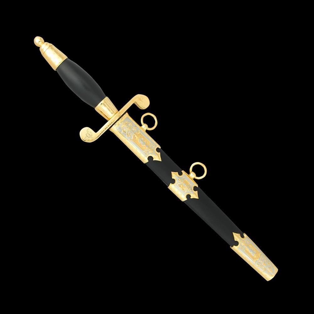 Army dagger with scabbard. Handmade Russian gunsmiths