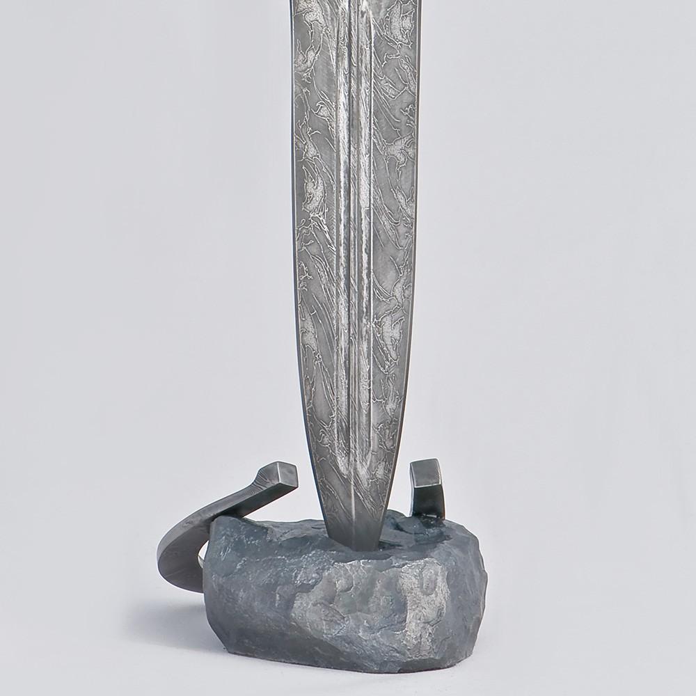 Art damascus steel dagger - Fast. Author's handmade work of a master from Zlatoust.