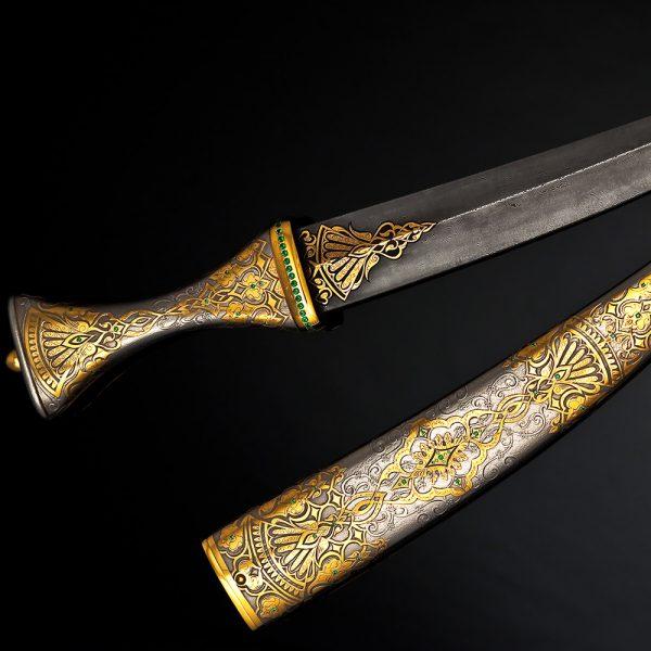 Damascus oriental dagger.