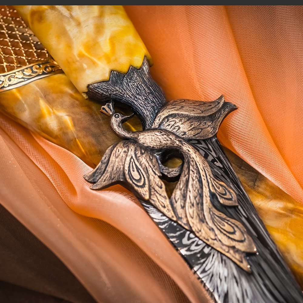 "The ""Firebird� author's dagger was created based on the Russian folk tale ""Ivan Tsarevich and the Gray Wolf�. The ingenious idea of the authors of the ""Firebird� dagger is amazing!"
