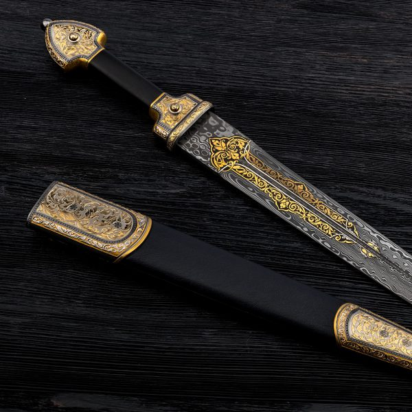 Dagger is a cold weapon with a short (up to 50 cm), straight or curved double-edged blade. The dagger is a very ancient weapon; the first daggers were made of wood and bone, and later of copper.
