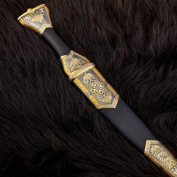 Premium oriental handmade black dagger dagger