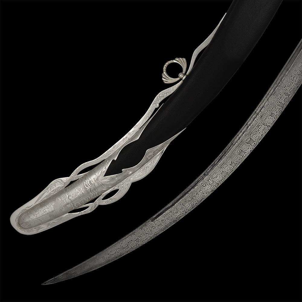 Silver sheath scabbard