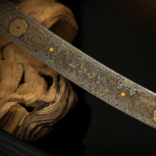 شفرة الصلب الدمشقي من دمشقي الذهب