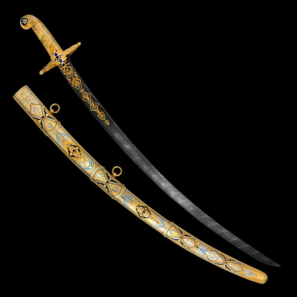 Handmade gift arabic sword for a respected man