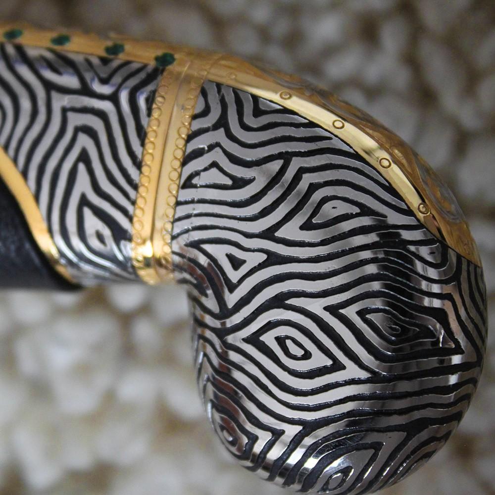 Handmade saber head (back)