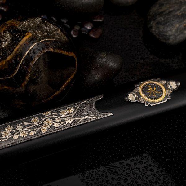 Japanese sheath black scabbard