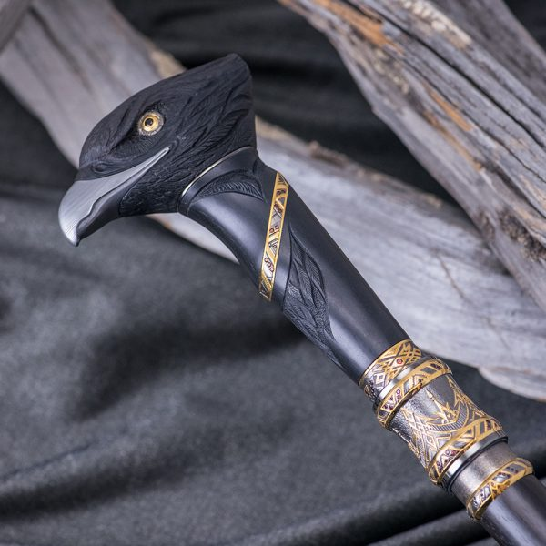 Such a collection cane is a tribute to traditions and an extraordinary gift for a respected person.