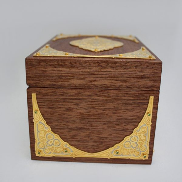 Small handmade wooden box