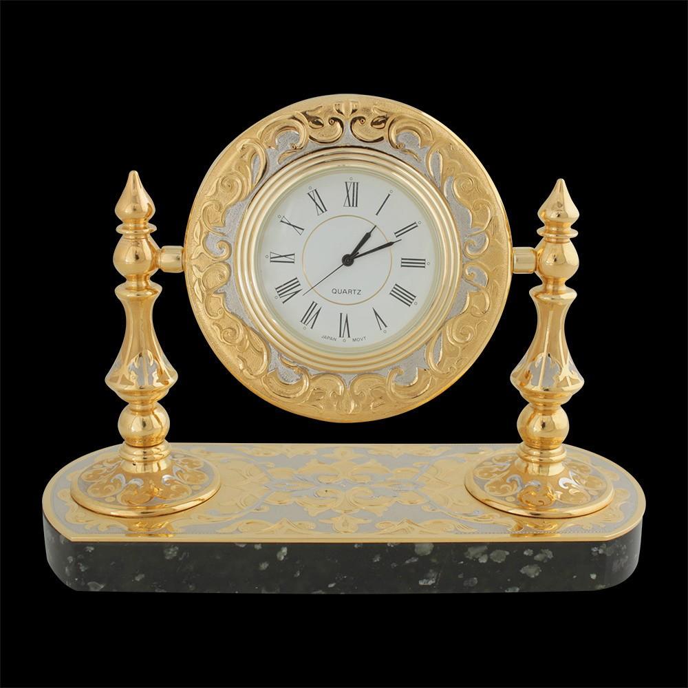 Handmade decorated office clock
