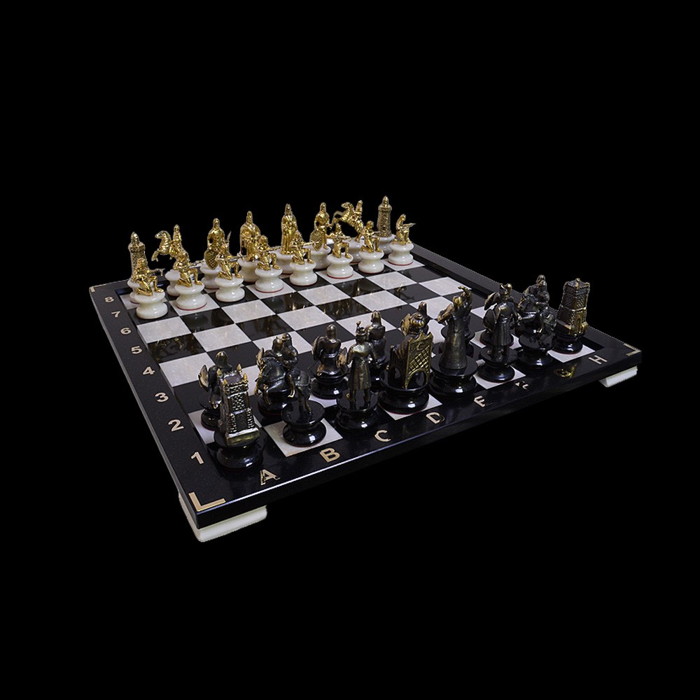 Handmade Chess - War of the West and the East.
