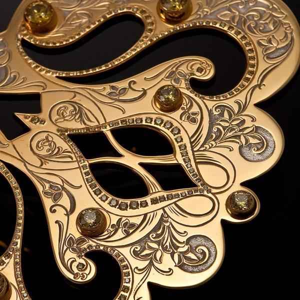 Jewelry work-Golden key