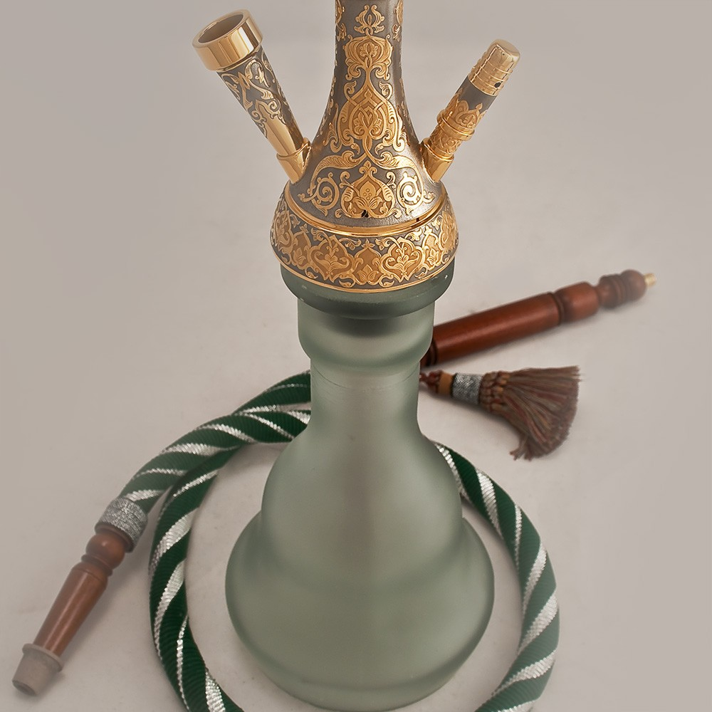 Matte luxury hookah flask