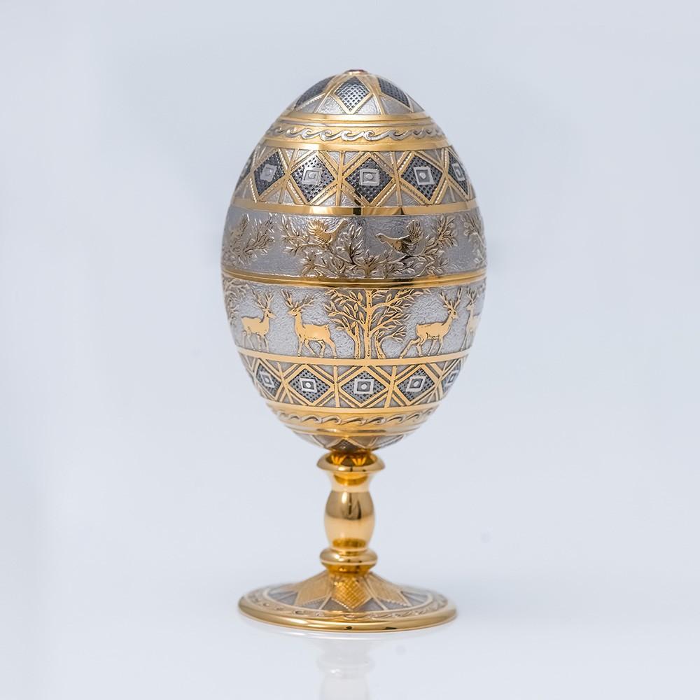 Handmade luxury egg