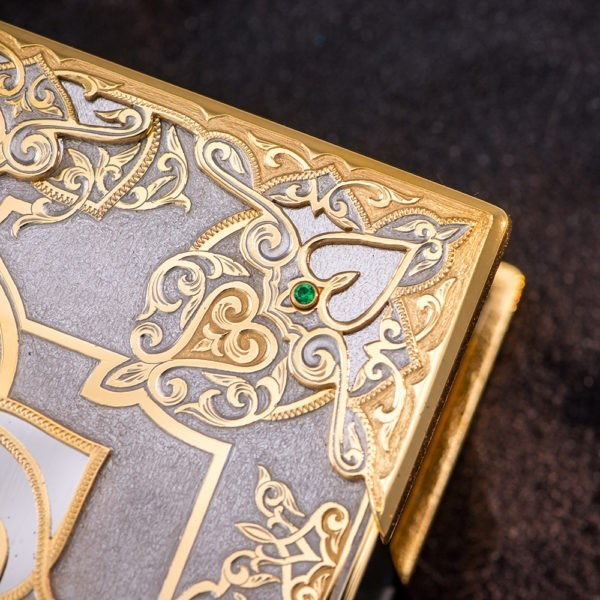 Cover expensive metal quran