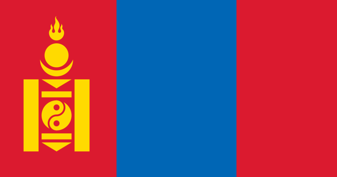 Tricolor of Mongolia