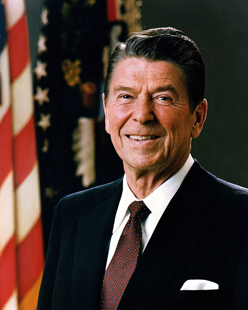 Ronald Wilson Reagan was an American politician who served as the 40th president of the United States from 1981 to 1989 and became the highly influential voice of modern conservatism.